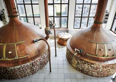 Brouwerij Strubbe hotelbotteltje cafebotteltje oostende Belgie bierhotel