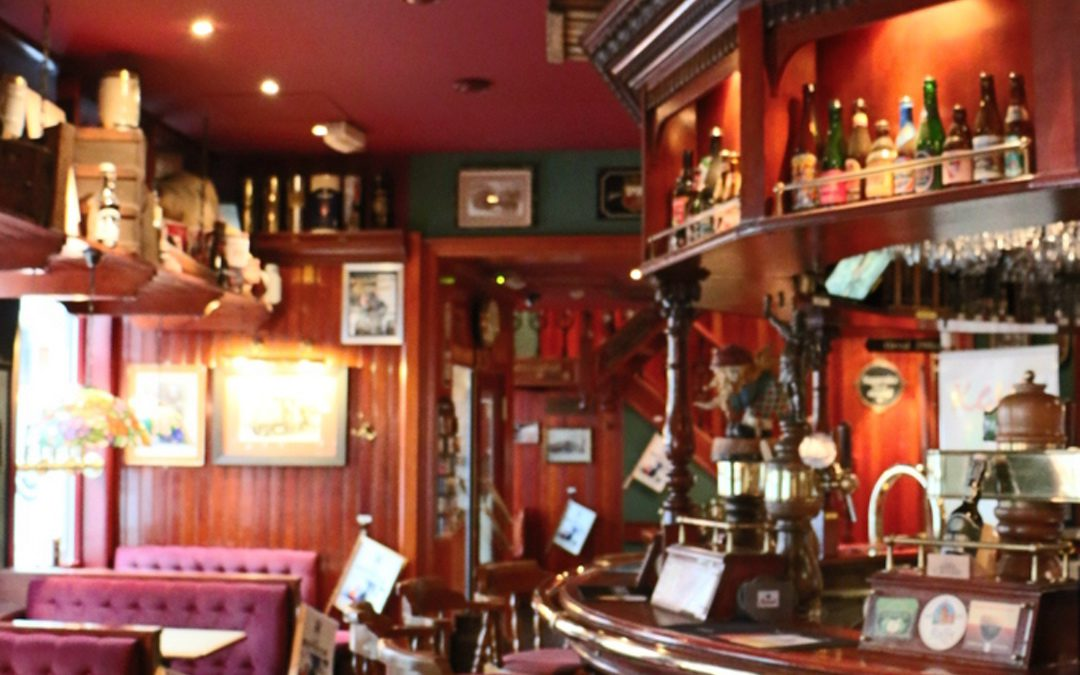 Delicious de l'ouest sur visite dans Café Botteltje !